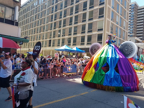 Pride Parade in Toronto